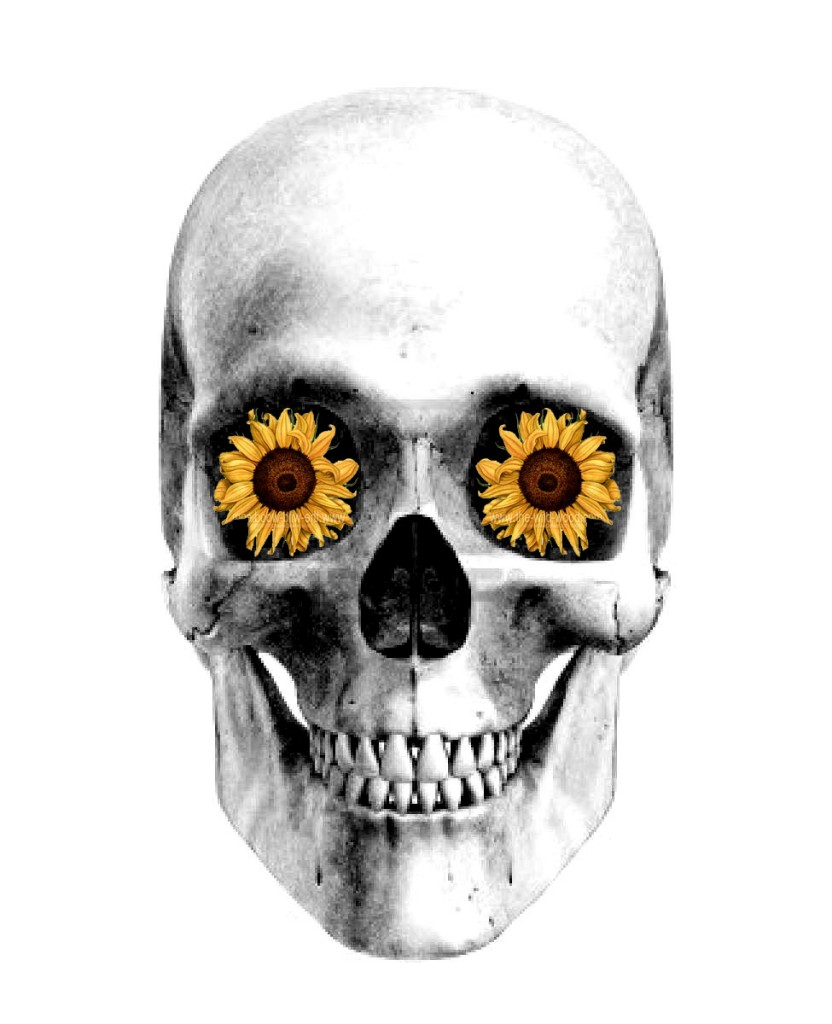 skullflower_tattoodesign