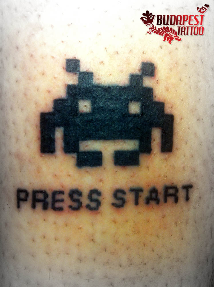 space_ivader_tattoo