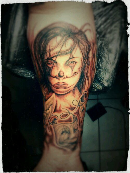 clown_face_girl_tattoo