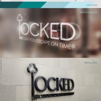 Identity design for Locked.gr