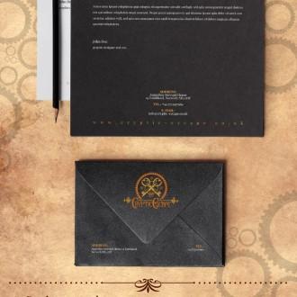 Identity graphic design for Cryptic Escape