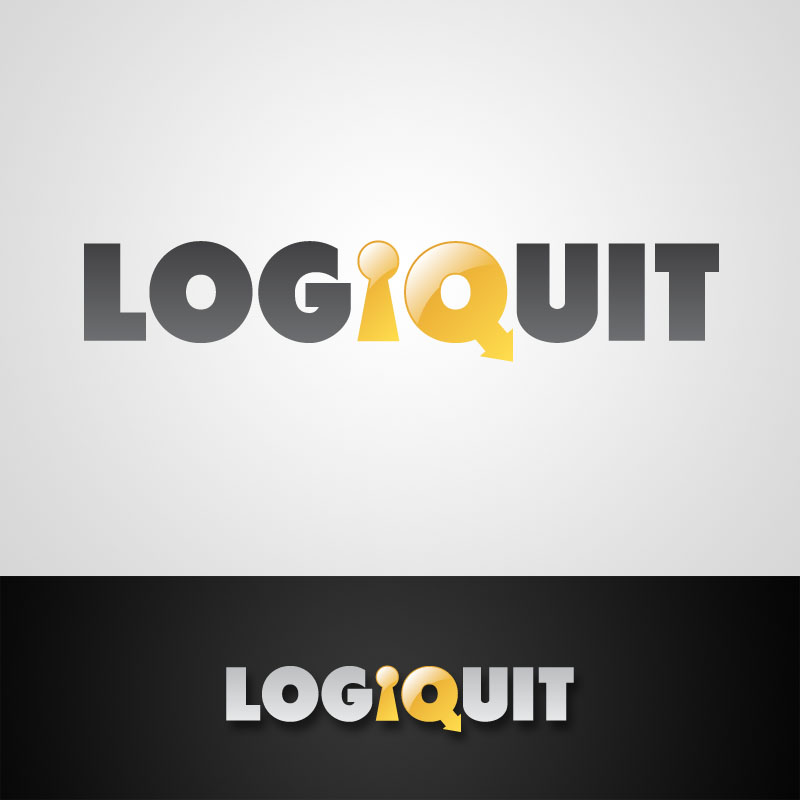 logiquit logo design escape game