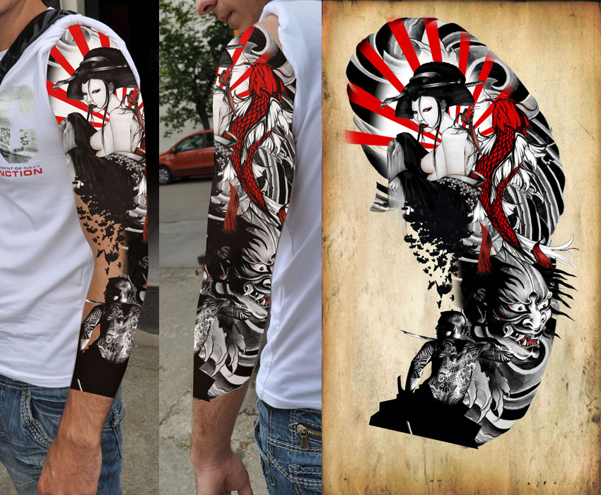 Japanes Tattoo Design The Official Site Of Rusvai Roland