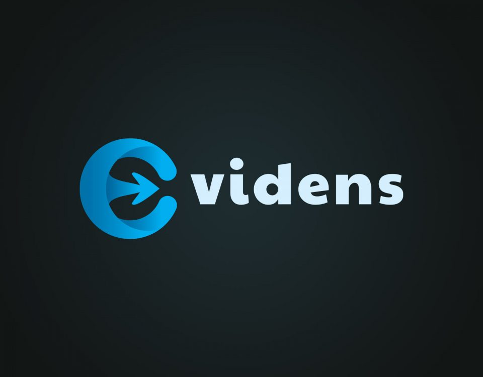 evidens corporate graphic design logo