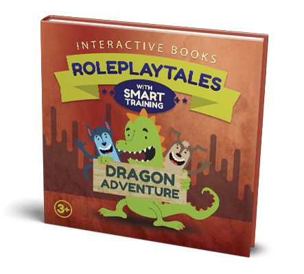 roleplaytales interactive books 01 dragon adventure mockup