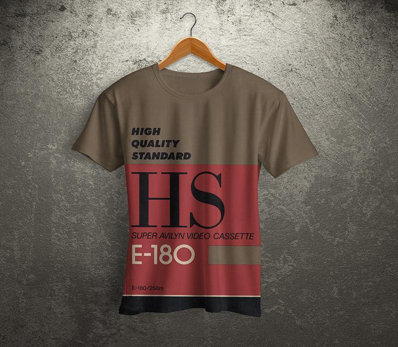 vhs shirt01 tdk ss