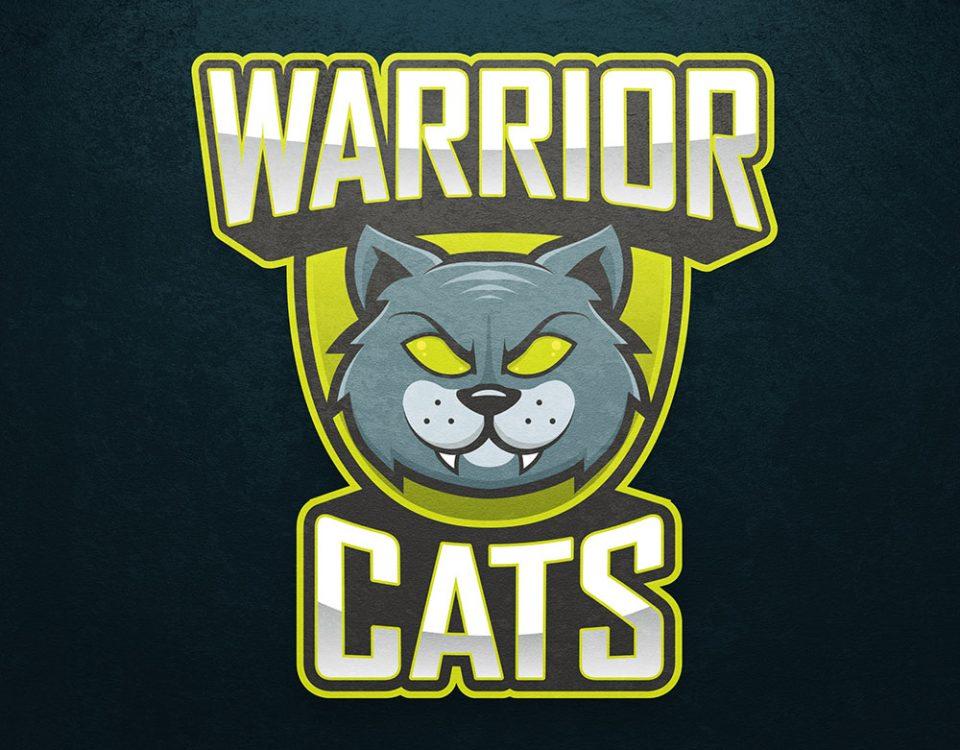 warrior cats esport logo